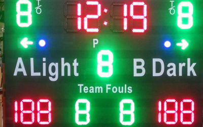 electronic scoreboards | LED Signage