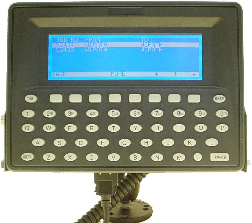 Mobile data terminals