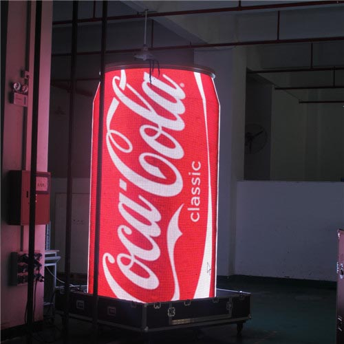 Coca Cola Can Round LED Display