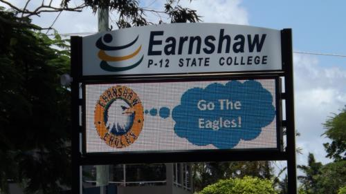 Electronic Digital LED Sign Earnshaw State College