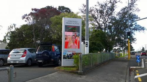 Electronic Digital LED Sign Hobsonville Primary