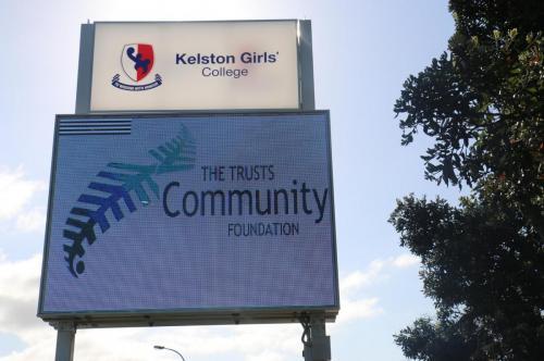 Electronic Digital LED Sign Kelston Girls HS