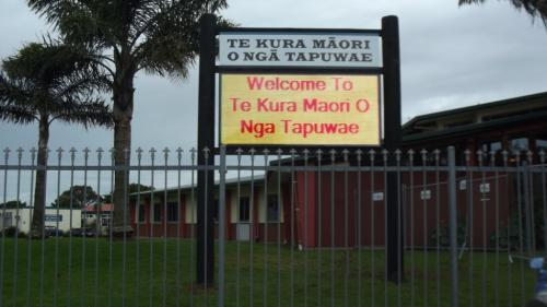 Electronic Digital LED Sign Nga Tapuwae