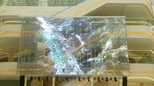 Electronic Digital LED Transparent Window Sign Display Mall