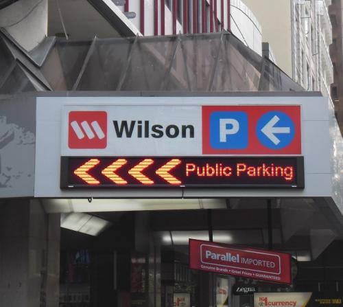 Electronic Digital LED Sign Wilson Durham