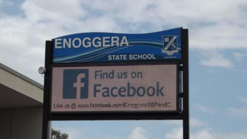 Electronic Digital LED Sign Enoggera State School