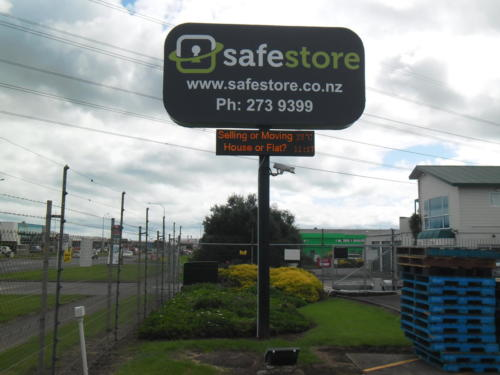 Electronic Digital LED Sign  Safe Store Storage