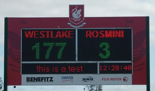 Westlake Boys HS Scoreboard