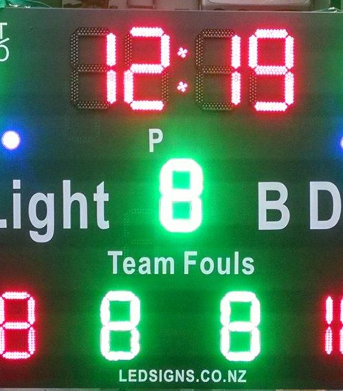 electronic scoreboards | LED Signage