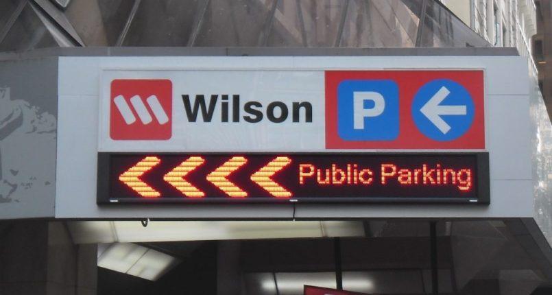 Wilson parking LED Signage