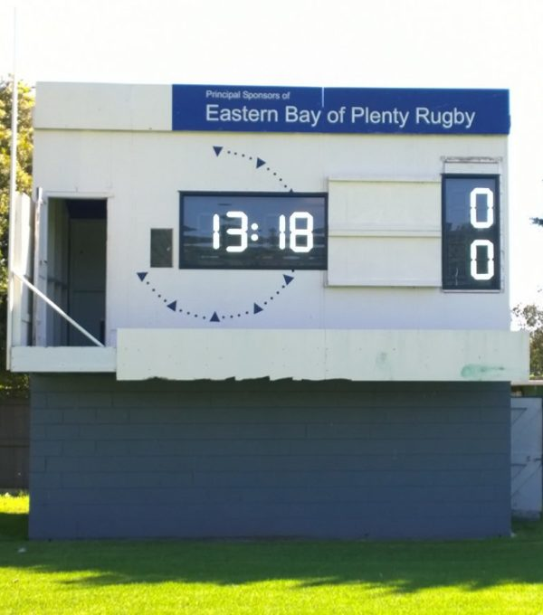 Rugby Electronic Scoreboards