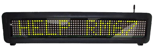 Text Only LED Signs - DA510