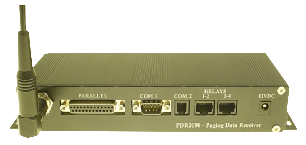 PDR3000 Paging Serial Data Receiver