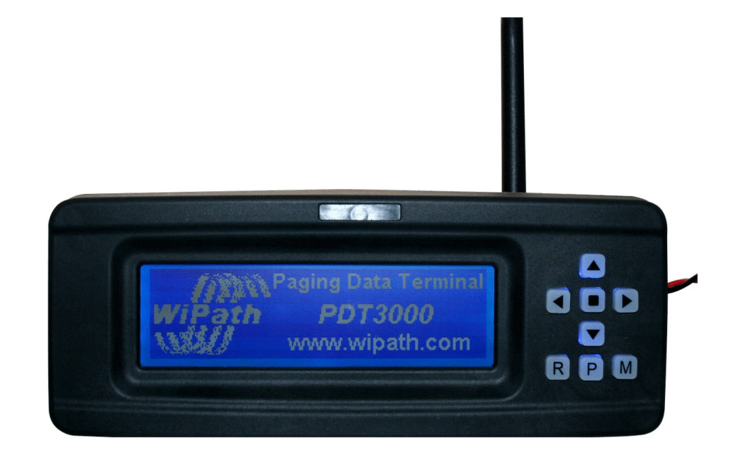 Paging Data Terminal Receiver - Pocsag or Flex