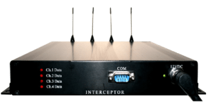 Interceptor Paging Message Receiver 4 Channel