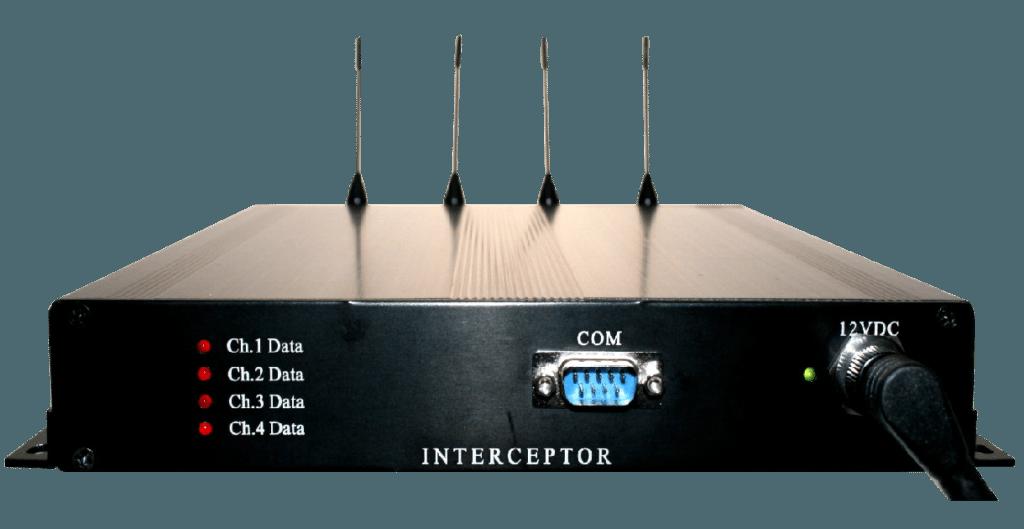 Interceptor Paging Message Receiver 4 Channel