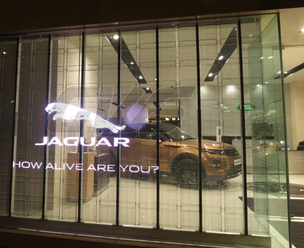 Transparent Window LED Sign - Large