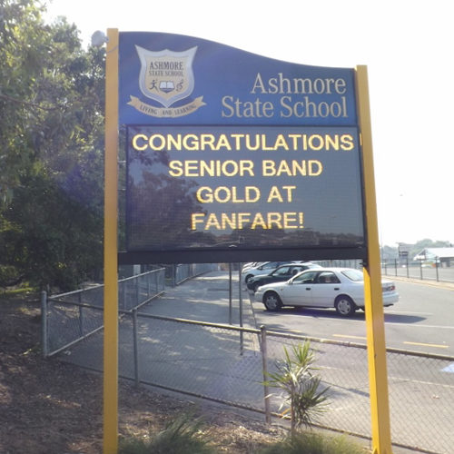 LED Signs for Schools - Ashmore State School