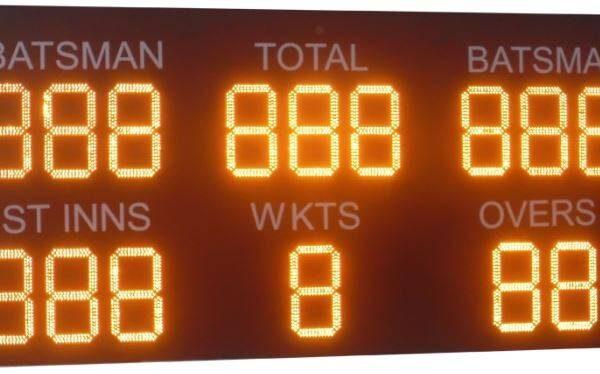 Cricket Electronic Scoreboards