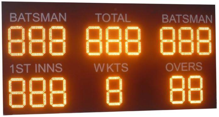 Cricket Electronic Scoreboards