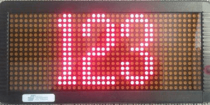 WIL 1640 Paging Controlled LED Sign