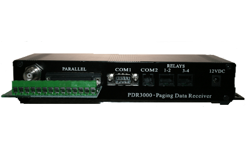 PDR3000 - Paging Data Receiver