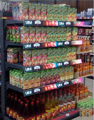 Shelf Edge Shop - Indoor LED Signs