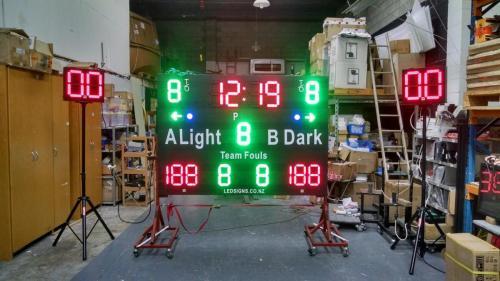 Electronic Scoreboard Basketball Scoreboard