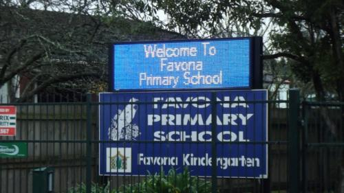 Electronic Digital LED Sign Favona Primary School