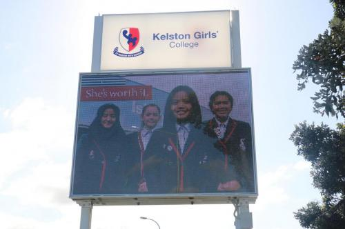 Electronic Digital LED Sign Kelston Girls High School
