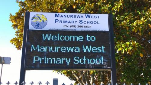 Electronic Digital LED Sign Manurewa West