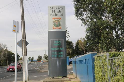Electronic Digital LED Sign Massey High
