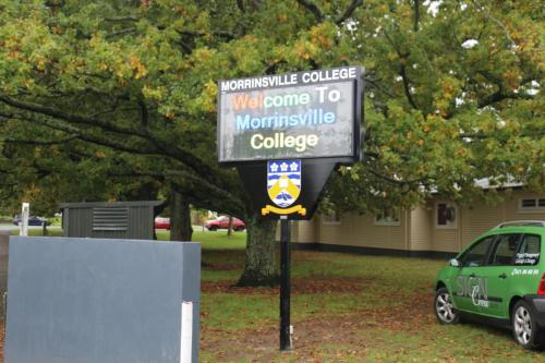 Electronic Digital LED Sign Morrinsvile College