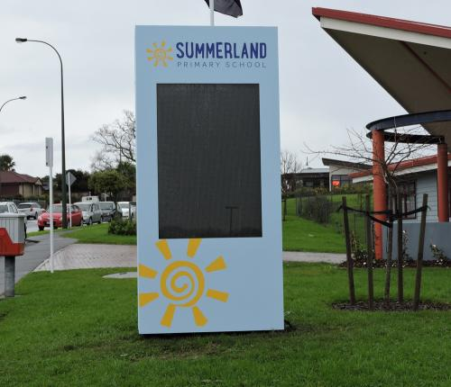Electronic Digital LED Sign Summerland