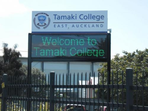 Electronic Digital LED Sign Tamaki College