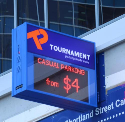 Electronic Digital LED Sign Tournament Shortland St