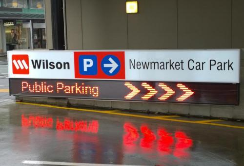 Electronic Digital LED Sign Wilson Remuera