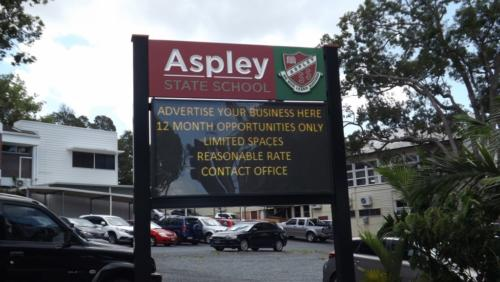 Electronic Digital LED Sign Aspley State School
