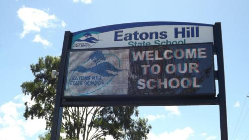 Electronic Digital LED Sign Eatons Hill State School