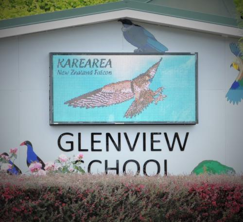 Electronic Digital LED Sign Glenview School