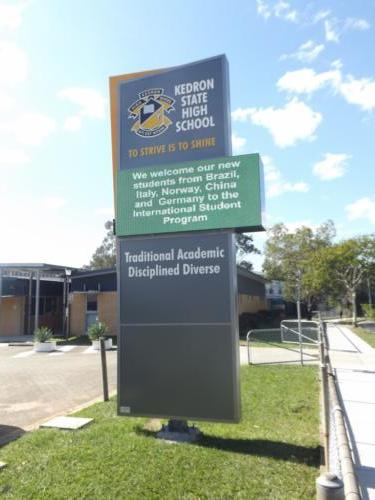 Electronic Digital LED Sign Kedron State High