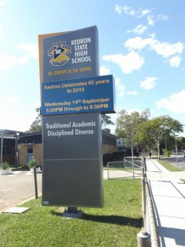 Electronic Digital LED Sign Kedron State HS