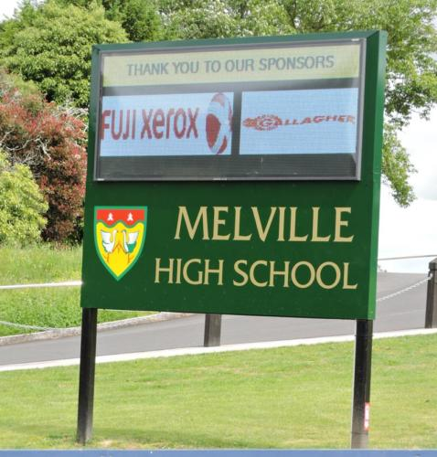 Electronic Digital LED Sign at Melville HS