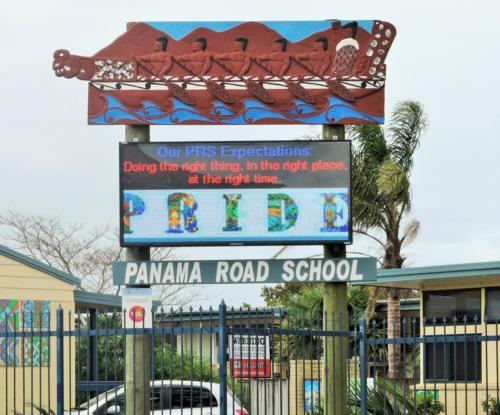 Electronic Digital LED Sign Panama Rd School