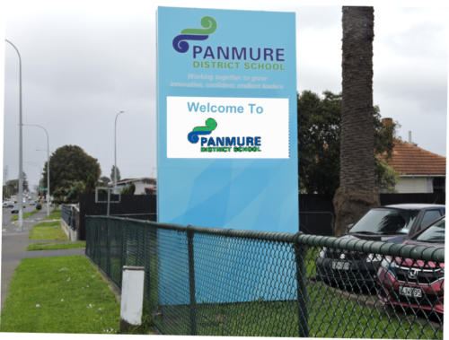 Electronic Digital LED Sign at Panmure DS