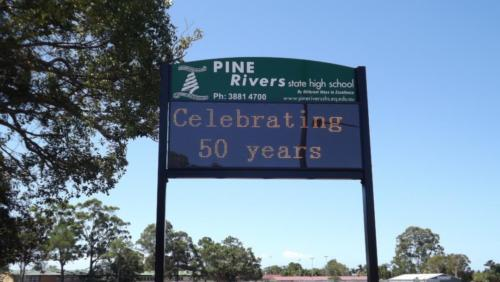 Electronic Digital LED Sign Pine Rivers State High School